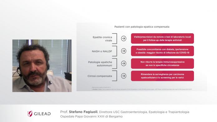 COVID-19 & epatopatie - Fagioli - Intervista